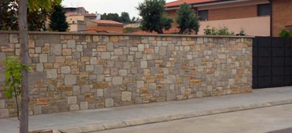 muros en piedra natural