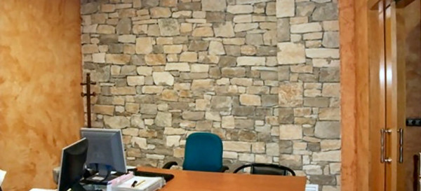 paredes en piedra natural