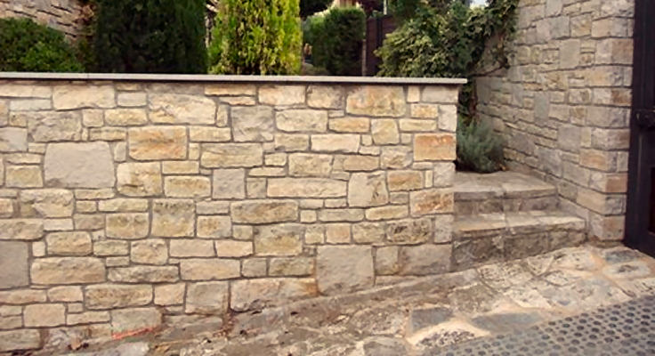 piedra natural para exteriores