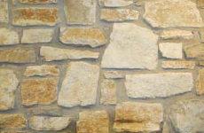 piedra irregular con junta
